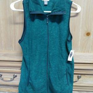 Old Navy women's Blue Fleece vest